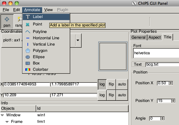 Gallery: Introductory examples - CIAO 4 11 ChIPS v1